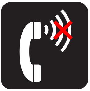 電話相手に声届かない