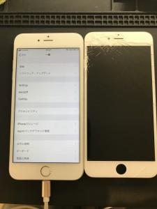 iPhone6s液晶画面破損